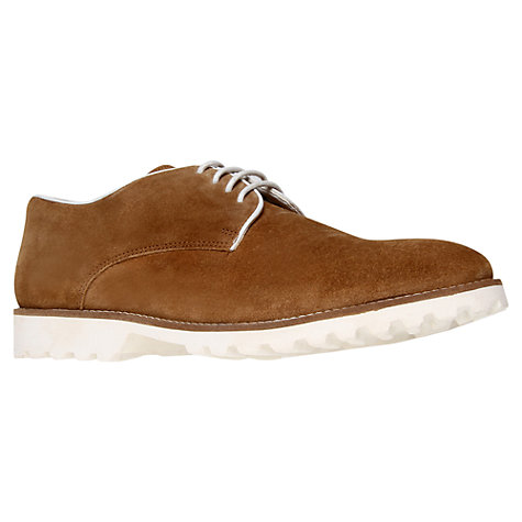 Buy KG by Kurt Geiger Madd Suede Derby Shoes Online at johnlewis.com
