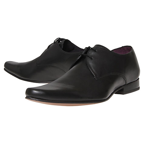 Buy KG by Kurt Geiger Nathan Leather Derby Shoes Online at johnlewis.com