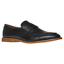 Buy KG by Kurt Geiger Shanks Leather Loafers Online at johnlewis.com