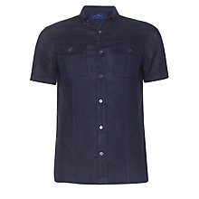 Buy Paul Costelloe for John Lewis Short Sleeve End On End Shirt Online at johnlewis.com