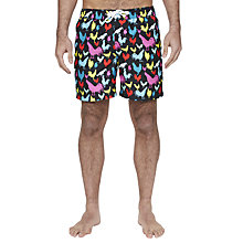Buy Original Penguin Rooster Print Swim Shorts Online at johnlewis.com