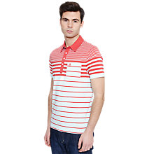 Buy Original Penguin Short Sleeve Stripe Polo Shirt Online at johnlewis.com