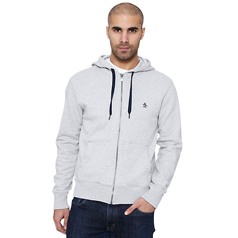 Buy Original Penguin Secret Sam Full Zip Hoodie Online at johnlewis.com