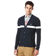 Buy Original Penguin Reversible Cardigan Online at johnlewis.com