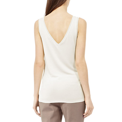 Buy Reiss Ona Fitted Tank Top Online at johnlewis.com