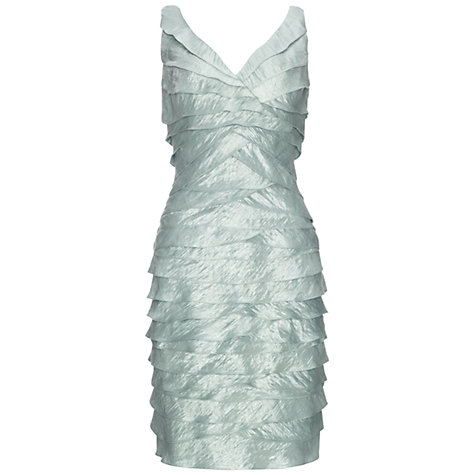 Buy Adrianna Papell Laser Cut Shutter Dress Online at johnlewis.com