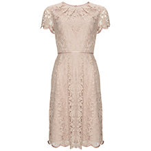 Buy Adrianna Papell Pleated Lace Dress Online at johnlewis.com