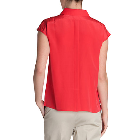 Buy Ted Baker Short Sleeved Shirt, Red Online at johnlewis.com