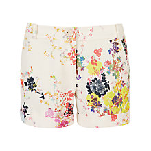 Buy Ted Baker Bonno Summer Bloom Shorts, Cream Online at johnlewis.com