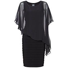 Buy Adrianna Papell Banded Chiffon Dress with Overlay Online at johnlewis.com