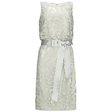 Buy Adrianna Papell Laced Blouson Dress Online at johnlewis.com