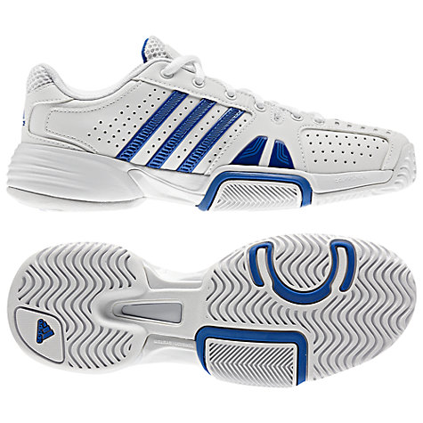 Buy Adidas Men's Barricade Team 2 Court Shoes Online at johnlewis.com