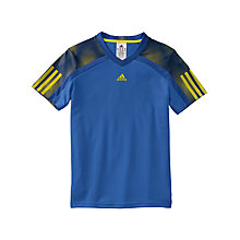 Buy Adidas Youth Barricade Murray V-Neck T-Shirt Online at johnlewis.com