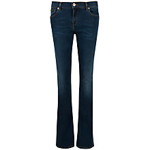 Buy Ted Baker Mid Wash Bootcut Jeans, Blue Online at johnlewis.com