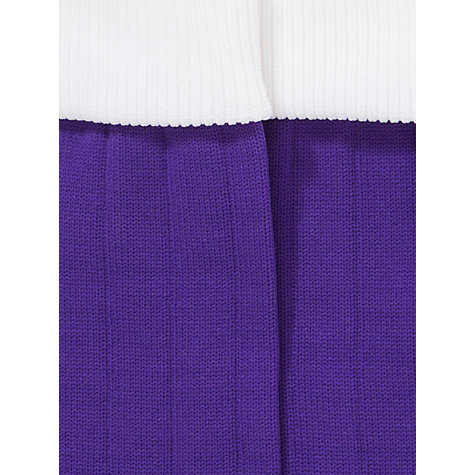 Buy Daiglen School Boys' Football Socks, Purple Online at johnlewis.com