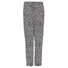 Buy Mango Printed Tapered Trousers Online at johnlewis.com