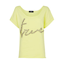 Buy Mango Crystal T-shirt Online at johnlewis.com