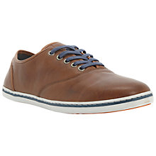 Buy Dune Tip Top Leather Trainers Online at johnlewis.com