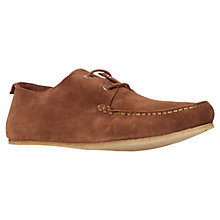 Buy KG by Kurt Geiger Kendall Suede Lace Up Moccasins Online at johnlewis.com