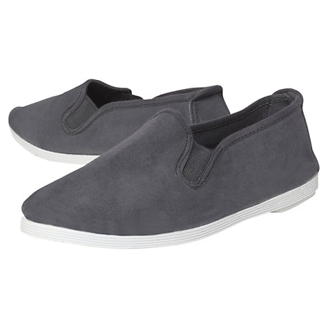 Buy KG by Kurt Geiger Ashley Canvas Slip On Shoes Online at johnlewis.com