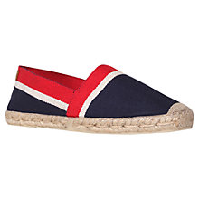 Buy KG by Kurt Geiger Hardy Espadrilles Online at johnlewis.com