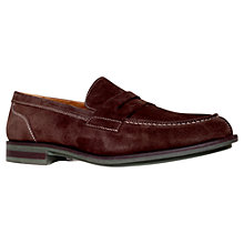 Buy KG by Kurt Geiger Healey Suede Loafers Online at johnlewis.com