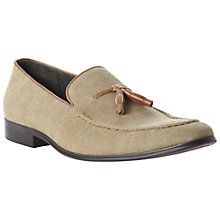 Buy Dune Apparel Canvas Tassel Loafers Online at johnlewis.com