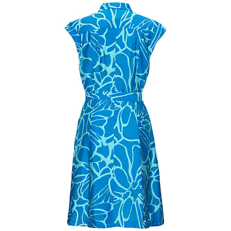 Buy Adrianna Papell Tucked Front Tie Dress Online at johnlewis.com