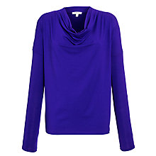 Buy Farhi by Nicole Farhi Cowl Jersey Top Online at johnlewis.com