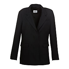 Buy Farhi by Nicole Farhi Tailored Linen Mix Jacket, Navy Online at johnlewis.com