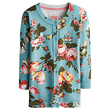 Buy Joules Edana Cotton Printed Cardigan, Dusty Blue Floral Online at johnlewis.com