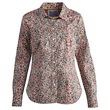 Buy Joules Kingston Ditsy Floral Shirt, Creme Ditsy Online at johnlewis.com