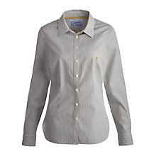 Buy Joules Kingston Stripe Shirt, Navy Stripe Online at johnlewis.com