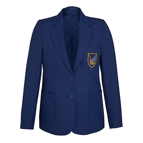 Buy Goffs School Girls' Blazer, Royal Blue Online at johnlewis.com