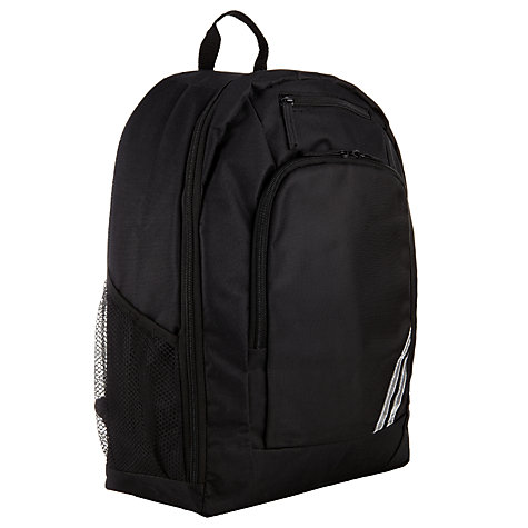 Buy John Lewis Plain School Rucksack, Black Online at johnlewis.com