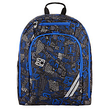 Buy John Lewis Junior School Backpack, Blue/Multi Online at johnlewis.com