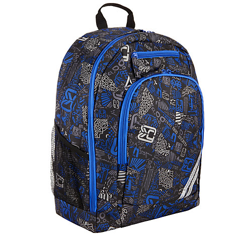 Buy John Lewis Junior School Rucksack, Blue/Multi Online at johnlewis.com