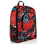 Buy John Lewis Senior Floral Rucksack, Red/Multi Online at johnlewis.com