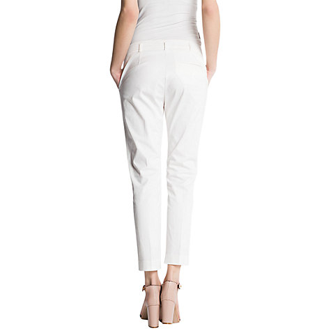 Buy Mango Tapered Chino Trousers Online at johnlewis.com