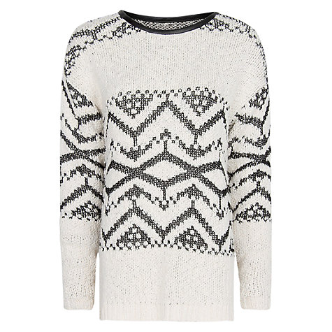 Buy Mango Tribal Sweater Online at johnlewis.com
