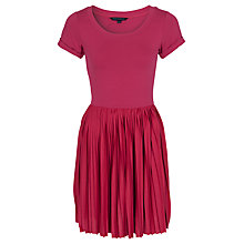 Buy French Connection Penny Pleated Dress Online at johnlewis.com