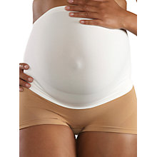 Buy Cantaloop Pregnancy Support Belt, White Online at johnlewis.com