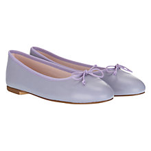 Buy Mint Velvet Leather Ballet Pumps Online at johnlewis.com