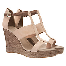 Buy Mint Velvet Wide Strap Wedge Espadrilles Online at johnlewis.com