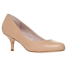 Buy KG by Kurt Geiger Amica Leather Court Shoes Online at johnlewis.com