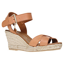 Buy Kurt Geiger Lisbon Leather Wedge Sandals Online at johnlewis.com