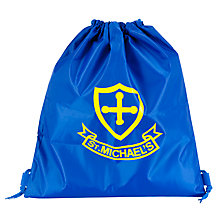 Buy St Michael's Church of England Preparatory School Unisex PE Bag, Royal Blue Online at johnlewis.com