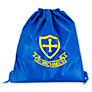 St Michael's Church of England Preparatory School Unisex PE Bag, Royal Blue