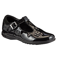 Buy Clarks Trixi Bay Shoes, Black Patent Online at johnlewis.com