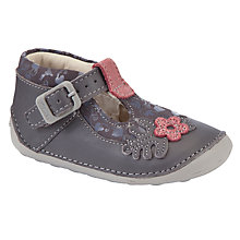Buy Clarks Ida Acorn Shoes, Anthracite Online at johnlewis.com